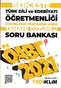 Yediiklim Yayınları 2021 ÖABT Türk Dili ve Edebiyatı Öğretmenliği Hücreleme Yöntemine Göre Berceste Tamamı Çözümlü Soru Bankası