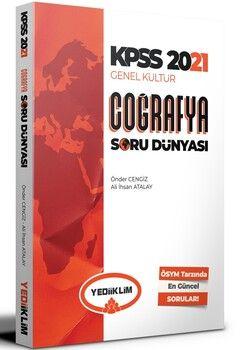 Yediiklim Yayınları 2021 KPSS Genel Kültür Coğrafya Soru Dünyası