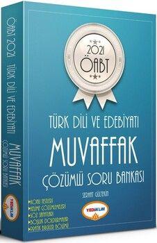 Yediiklim Yayınları2021 ÖABT Muvaffak Türk Dili ve Edebiyatı Tamamı Çözümlü Soru Bankası