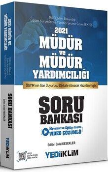Yediiklim Yayınları2021 MEB EKYS Müdür ve Müdür Yardımcılığı Soru Bankası