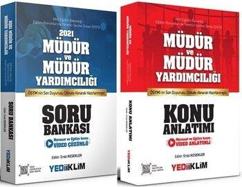 Yediiklim Yayınları MEB EKYS Müdür ve Müdür Yardımcılığı Konu Anlatımı + Soru Bankası Seti