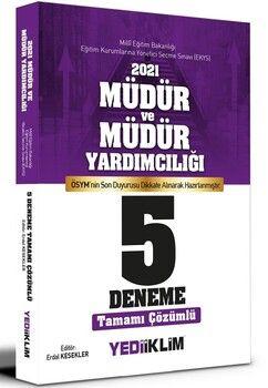 Yediiklim Yayınları 2021 MEB EKYS Müdür ve Müdür Yardımcılığı Tamamı Çözümlü 5 Deneme