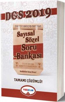 Yediiklim Yayınları 2019 DGS Sayısal Sözel Tamamı Çözümlü Soru Bankası