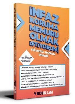 Yediiklim Yayınları İnfaz Koruma Memuru Olmak İstiyorum Mülakat Hazırlık Rehberi