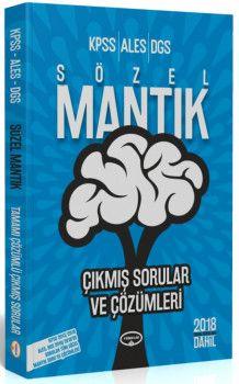 Yediiklim Yayınları KPSS ALES DGS Sözel Mantık Çıkmış Sorular ve Çözümleri
