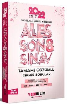 Yediiklim Yayınları 2022 ALES Sayısal Sözel Yetenek Tamamı Çözümlü Son 8 Sınav Çıkmış Sorular