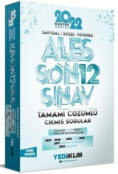 Yediiklim Yayınları 2022 ALES Sayısal Sözel Yetenek Tamamı Çözümlü Son 12 Sınav Çıkmış Sorular