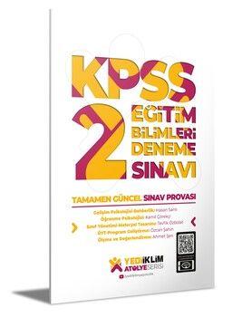 Yediiklim Yayınları KPSS Eğitim Bilimleri 2 Atölye Serisi Deneme Sınavı