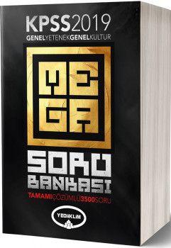 Yediiklim Yayınları 2019 KPSS Genel Yetenek Genel Kültür Tamamı Çözümlü Mega Soru Bankası