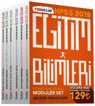 Yediiklim Yayınları 2019 Eğitim Bilimleri Konu Anlatımlı Modüler Set