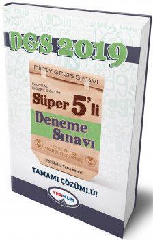 Yediiklim Yayınları DGS 2019 Süper 5 li Deneme Sınavı