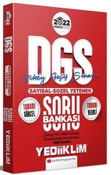 Yediiklim Yayınları 2022 Prestij Serisi DGS Sayısal Sözel Yetenek Soru Bankası 4 Renk