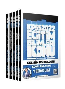 Yediiklim Yayınları 2022 KPSS Eğitim Bilimleri Konu Anlatımlı Modüler Set