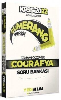 Yediiklim Yayınları 2022 KPSS Genel Kültür Bumerang Coğrafya Tamamı Çözümlü Soru Bankası