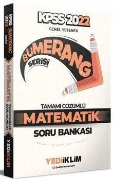 Yediiklim Yayınları 2022 KPSS Genel Yetenek Bumerang Matematik Tamamı Çözümlü Soru Bankası