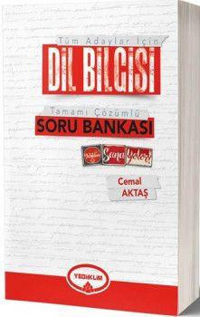 2019 Tüm Adaylar İçin Dil Bilgisi Tamamı Çözümlü Soru Bankası Yediiklim Yayınları