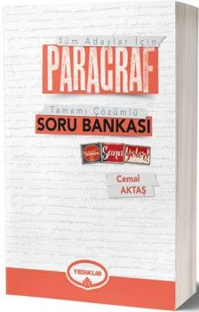 2019 Tüm Adaylar İçin Paragraf Tamamı Çözümlü Soru Bankası Yediiklim Yayınları