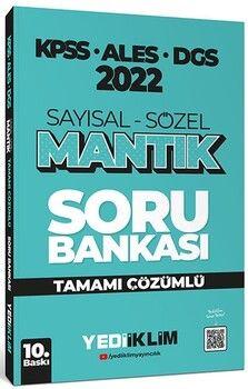 Yediiklim Yayınları2022 KPSS ALES DGS Sayısal Sözel Mantık Tamamı Çözümlü Soru Bankası