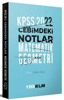Yediiklim Yayınları 2022 KPSS Cebimdeki Notlar Matematik Geometri Kitapçığı