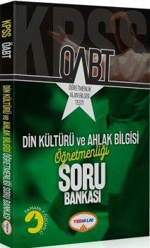 Yediiklim Yayınları ÖABT Din Kültürü ve Ahlak Bilgisi Öğretmenliği Tamamı Çözümlü Soru Bankası
