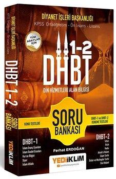 Yediiklim Yayınları DHBT Tüm Adaylar İçin Din Hizmetleri Alan Bilgisi Soru Bankası
