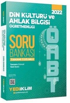 Yediiklim Yayınları 2022 ÖABT Din Kültürü ve Ahlak Bilgisi Öğretmenliği Tamamı Çözümlü Soru Bankası