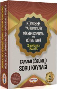 Yediiklim Yayınları Komiser Yardımcılığı Sınavlarına Hazırlık Tamamı Çözümlü Soru Kaynağı 4. Baskı