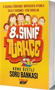 Yediiklim Yayınları 8. Sınıf LGS Türkçe Konu Özetli Soru Bankası