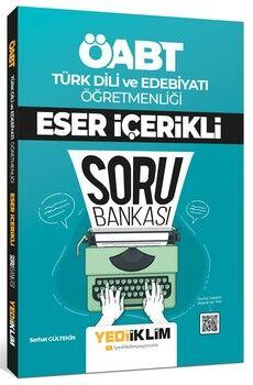 Yediiklim Yayınları ÖABT Türk Dili ve Edebiyatı Öğretmenliği Eser İçerikli Soru Bankası