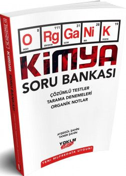 Yediiklim Yayınları Organik Kimya Soru Bankası