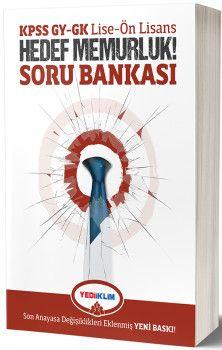 Yediiklim Yayınları KPSS GY GK Lise Ön Lisans Hedef Memurluk Soru Bankası