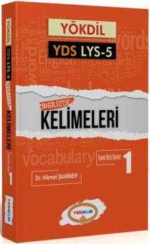 Yediiklim YÖKDİL YDS LYS 5 İngilizce Kelimeleri 1