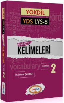 Yediiklim YÖKDİL YDS LYS 5 İngilizce Kelimeleri 2