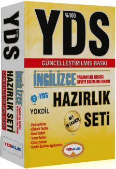 Yediiklim YDS % 100 İngilizce Hazırlık Seti 10 Fasikül