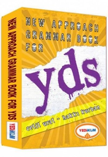 Yediiklim YDS New Approach Grammar Book For YDS