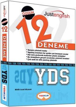 Yediiklim YDS Tamami Çözümlü 12 Deneme Sınavı