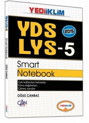 Yediiklim YDS ve LYS-5 Smart Notebook
