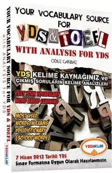 Yediiklim Your Vocabulary Source For YDS and TOEFL