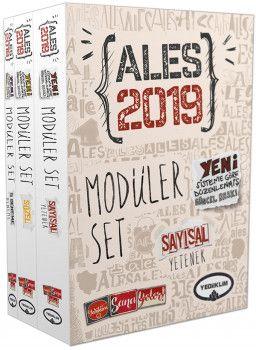 Yediiklim2019 ALES Sayısal Sözel Yetenek Konu Anlatımlı Modüler Set