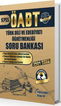 Yekta Özdil 2019 ÖABT Sınav Tadında Türk Dili ve Edebiyatı Öğretmenliği Soru Bankası