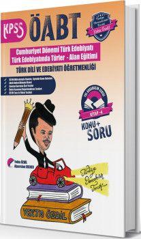 Yekta Özdil 2019 ÖABT Türk Dili ve Edebiyatı Öğretmenliği Konu Anlatımlı Soru Bankası Yol Arkadaşım Serisi 4. Kitap