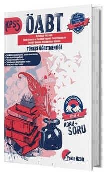 Yekta Özdil 2019 ÖABT Türkçe Öğretmenliği Konu Anlatımlı Soru Bankası 3. Kitap Yol Arkadaşım Serisi