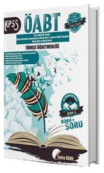 Yekta Özdil 2019 ÖABT Türkçe Öğretmenliği Konu Anlatımlı Soru Bankası 2. Kitap Yol Arkadaşım Serisi
