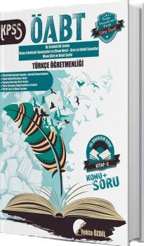 Yekta Özdil 2019 ÖABT Türkçe Öğretmenliği Yol Arkadaşım Serisi 2. Kitap