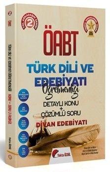 Yekta Özdil 2020 ÖABT Türk Dili ve Edebiyatı 2 Kitap Divan Edebiyatı Konu Anlatımlı Soru Bankası