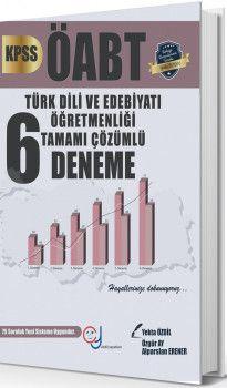 Yekta Özdil ÖABT Türk Dili ve Edebiyatı Öğretmenliği Tamamı Çözümlü 6 Deneme