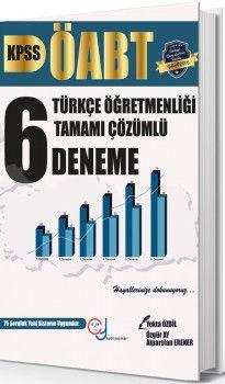 Yekta Özdil ÖABT Türkçe Öğretmenliği Tamamı Çözümlü 6 Deneme