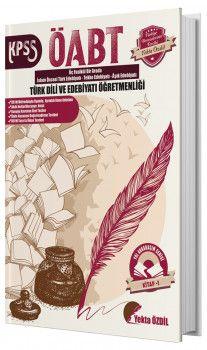 Yekta Özdil ÖABT Türk Dili ve Edebiyatı Öğretmenliği Yol Arkadaşım Serisi 1. Kitap