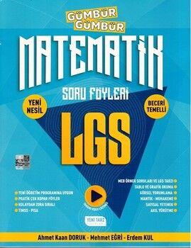 Yeni Tarz 8. Sınıf LGS Matematik Gümbür Gümbür Soru Föyleri