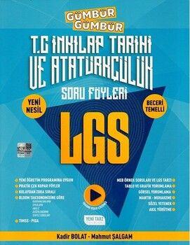 Yeni Tarz 8. Sınıf LGS T. C. İnkılap Tarihi ve Atatürkçülük Gümbür Gümbür Soru Föyleri